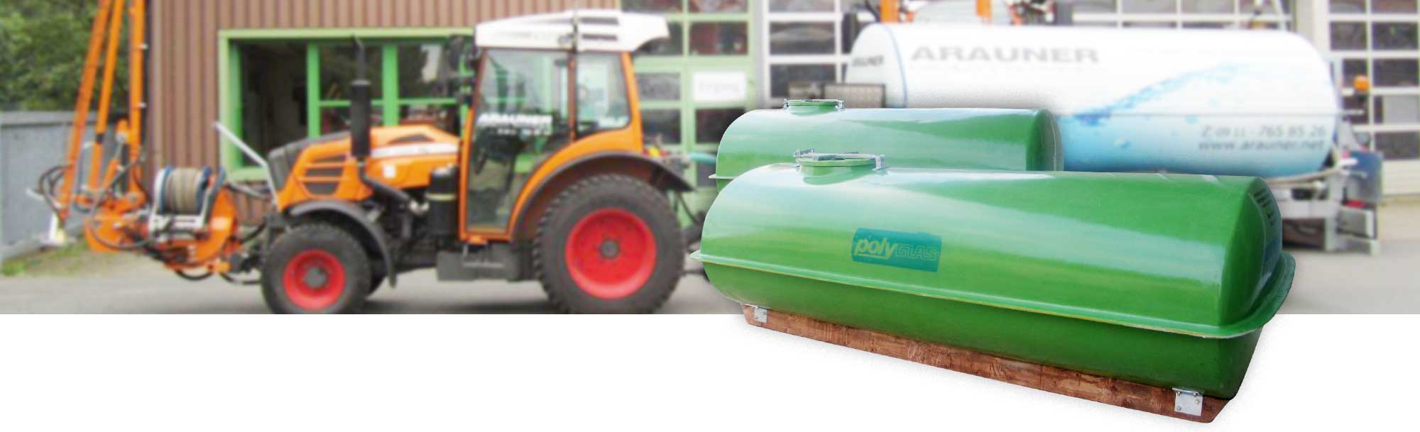 GFK Tank für verschiedenen Anwendungen