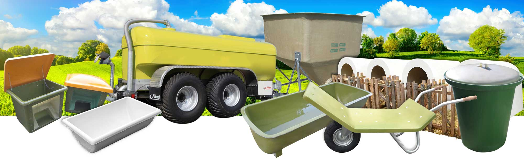 GFK Produkte für die Landwirtschaft