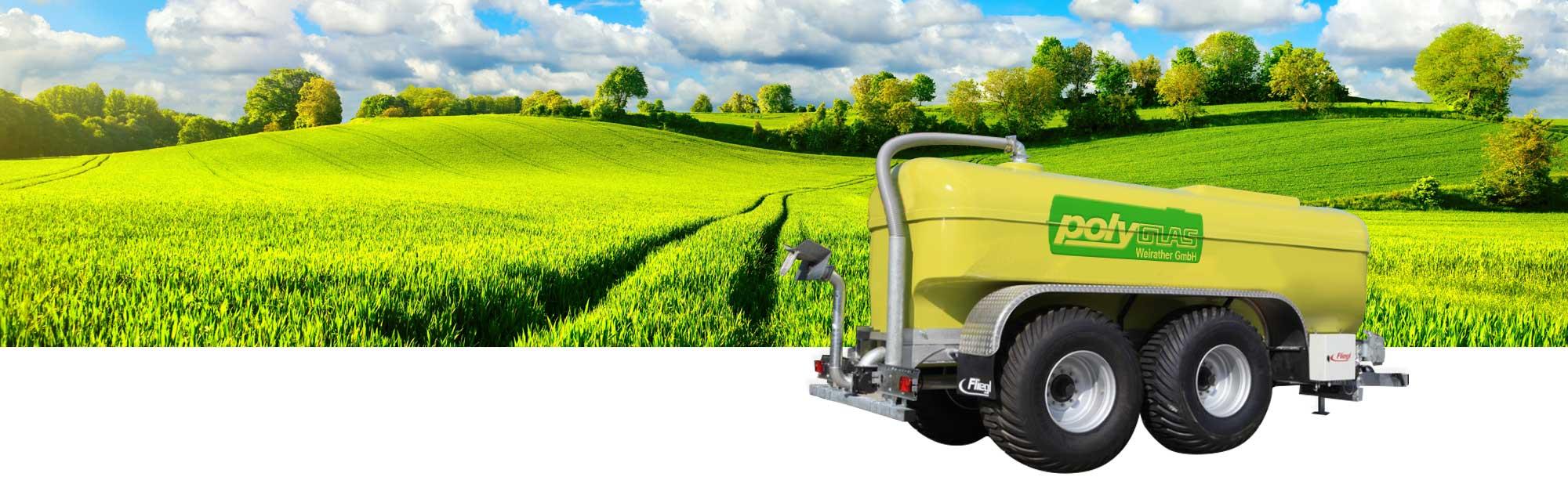 Guelletank für Landwirtschaft
